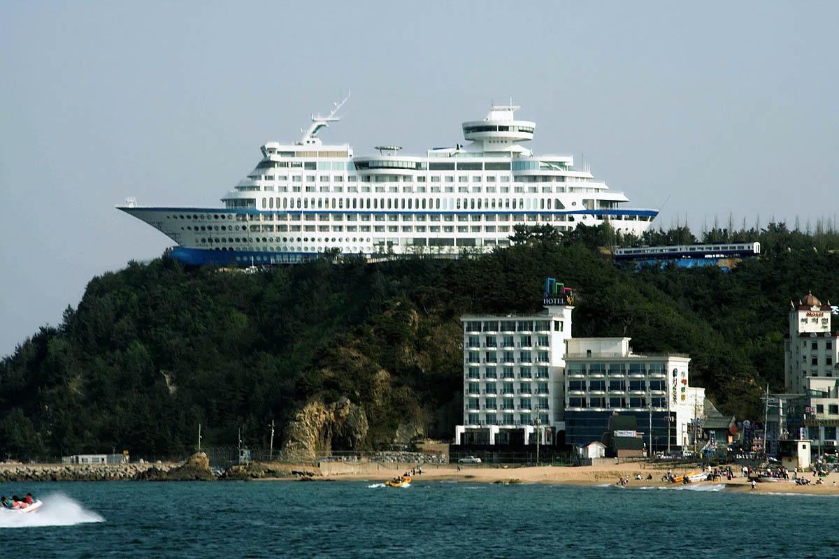 Sun Cruise Hotel, Jeongdongjin, Gangneung, Korea