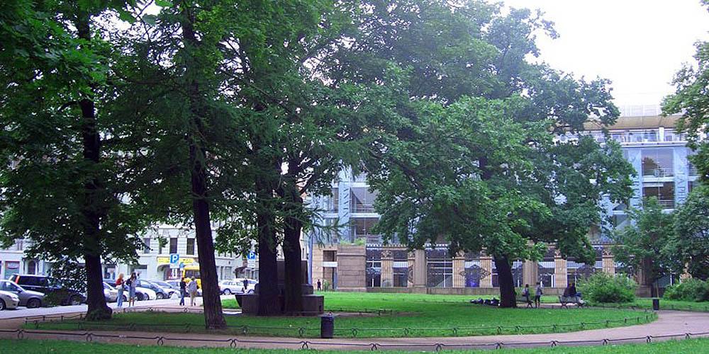 Воронихинский сквер, Санкт-Петербург