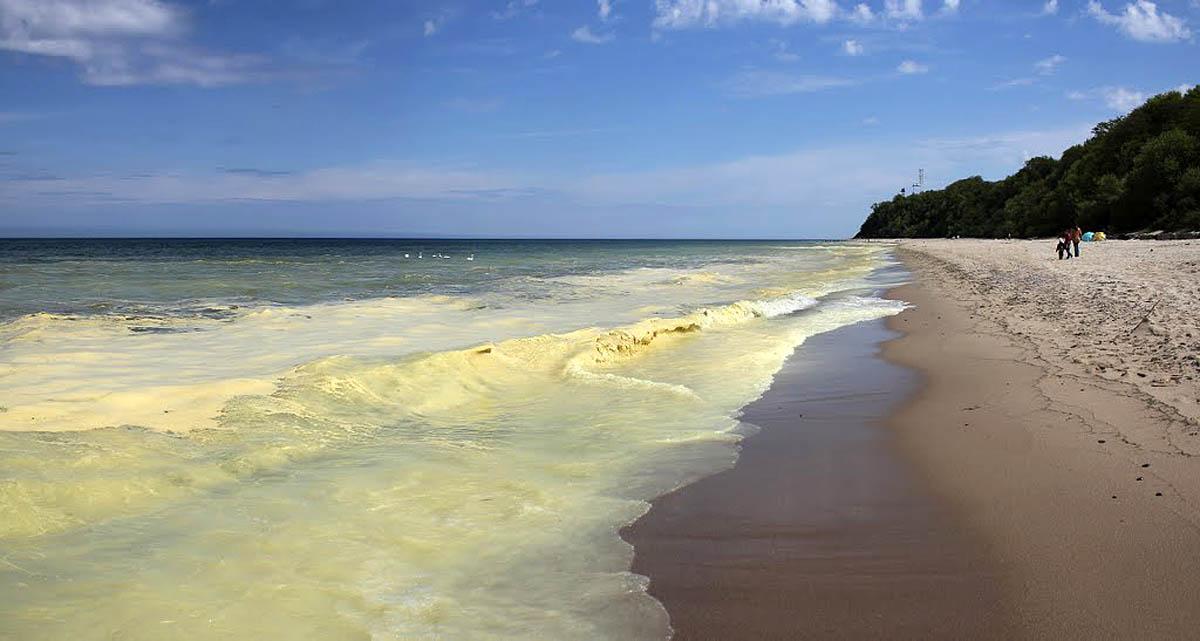 Желтое море в Китае