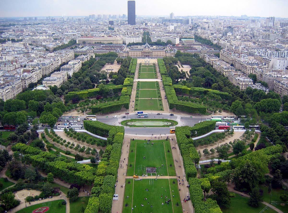 бульвар Елисейские поля, Париж, Франция