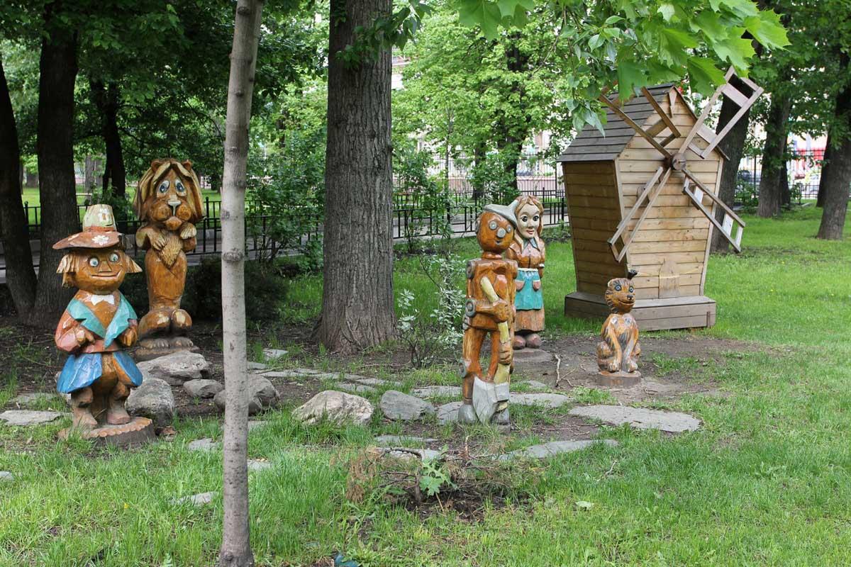 детская площадка в Марьиной роще