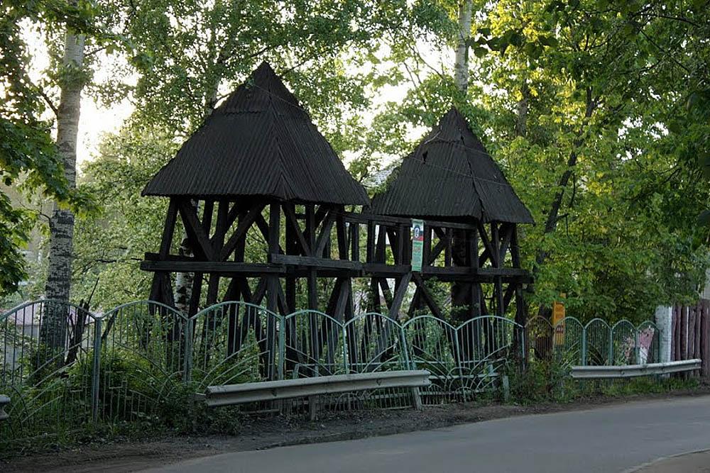 дозорные башни в Немчиновке