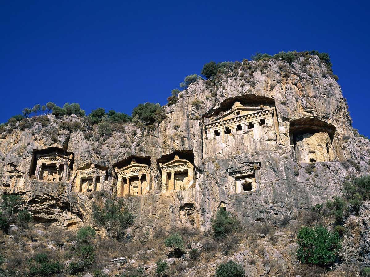 древние достопримечательности Турции
