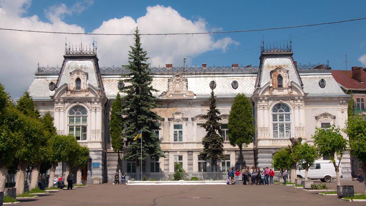 дворец Семенских во Львове, Украина