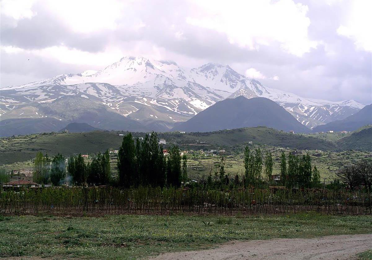горнолыжный курорт Эрджиес в Турции