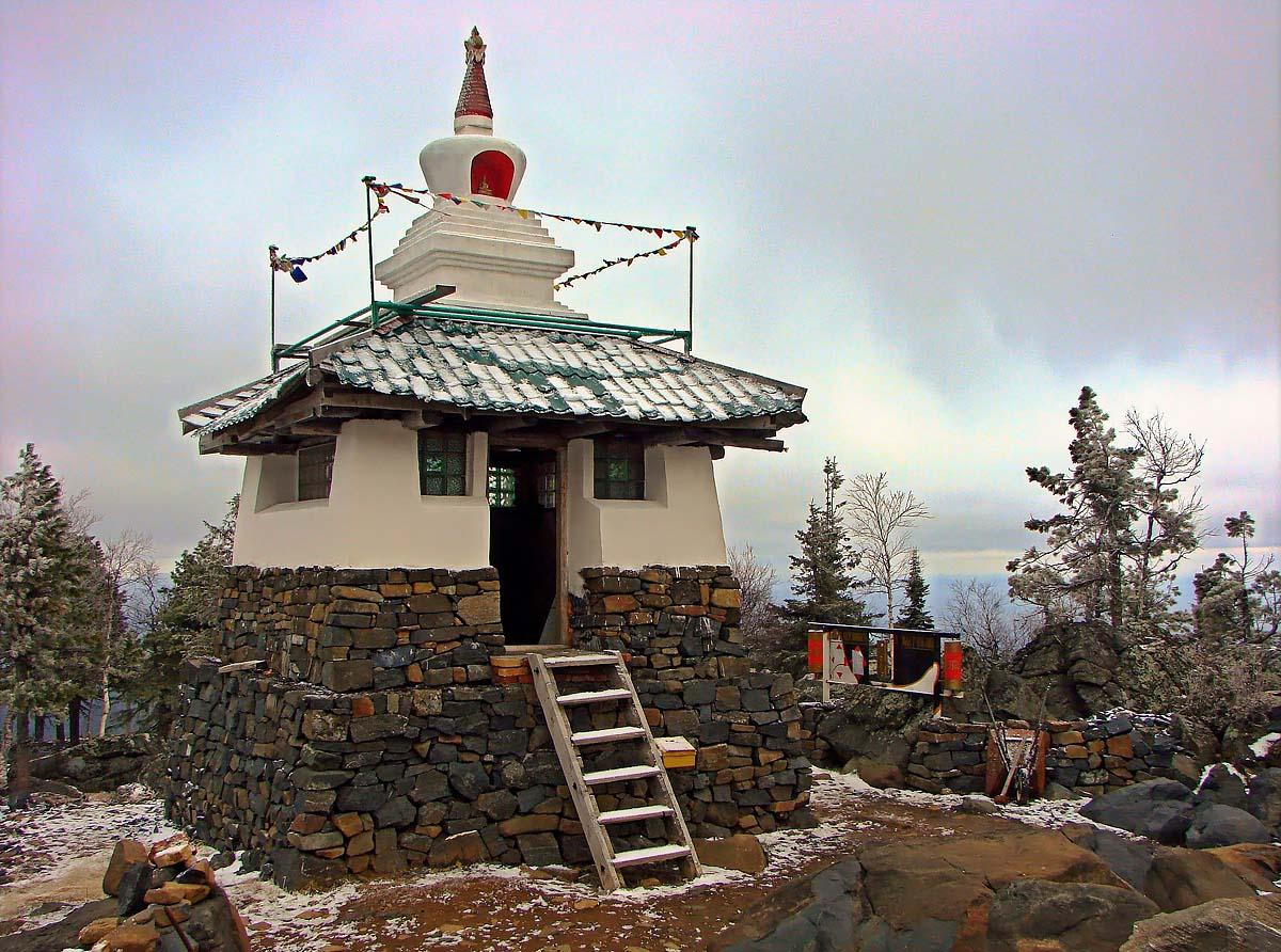 храм на горе Качканар