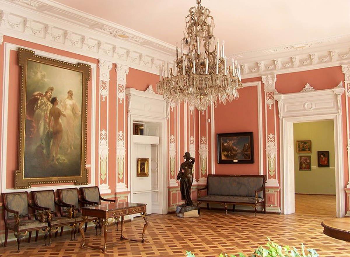 интерьер дворца Потоцких