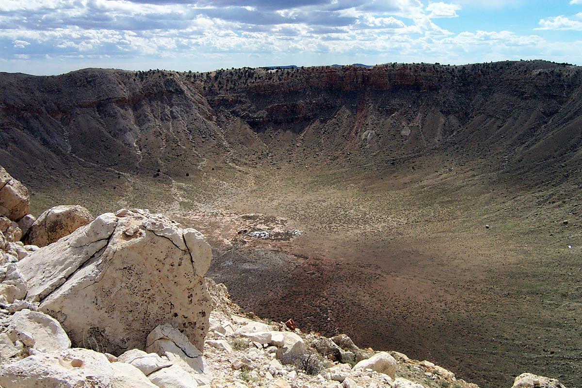 кратер Бэррингера, Аризона, США