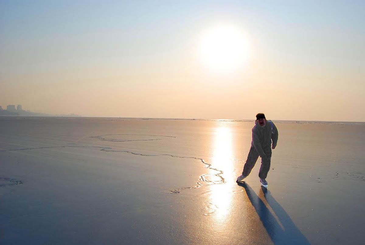 лед на Амурском заливе
