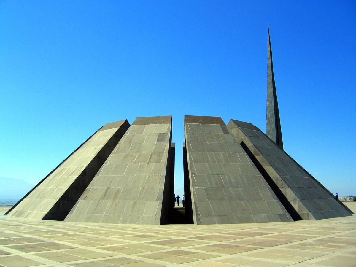мемориал Цицернакаберд в Ереване, Армения