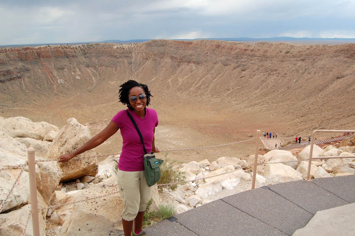 метеоритный кратер Бэррингера
