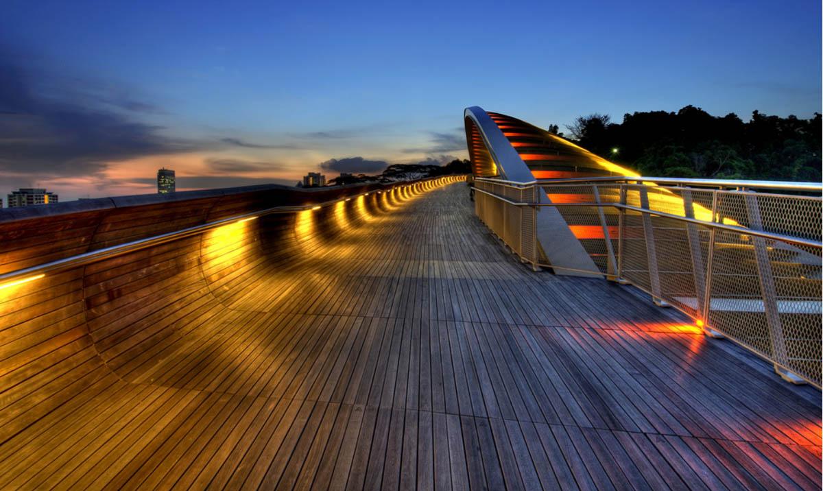 мост Волны Хендерсона, Сингапур