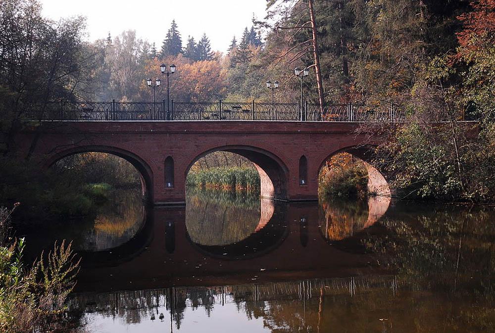 мост в Подушкино