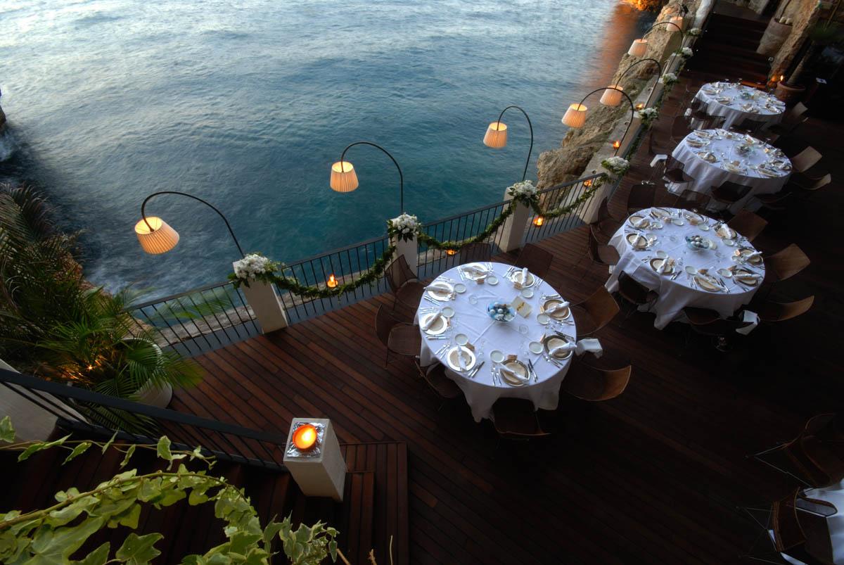 отель-ресторан Grotte Palazzese, Апулия