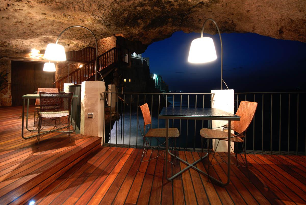 отель-ресторан Grotte Palazzese