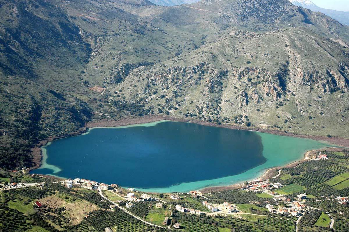 озеро Курнас, Крит