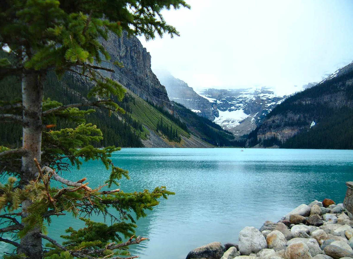 озеро Луиза, Альберта, Канада