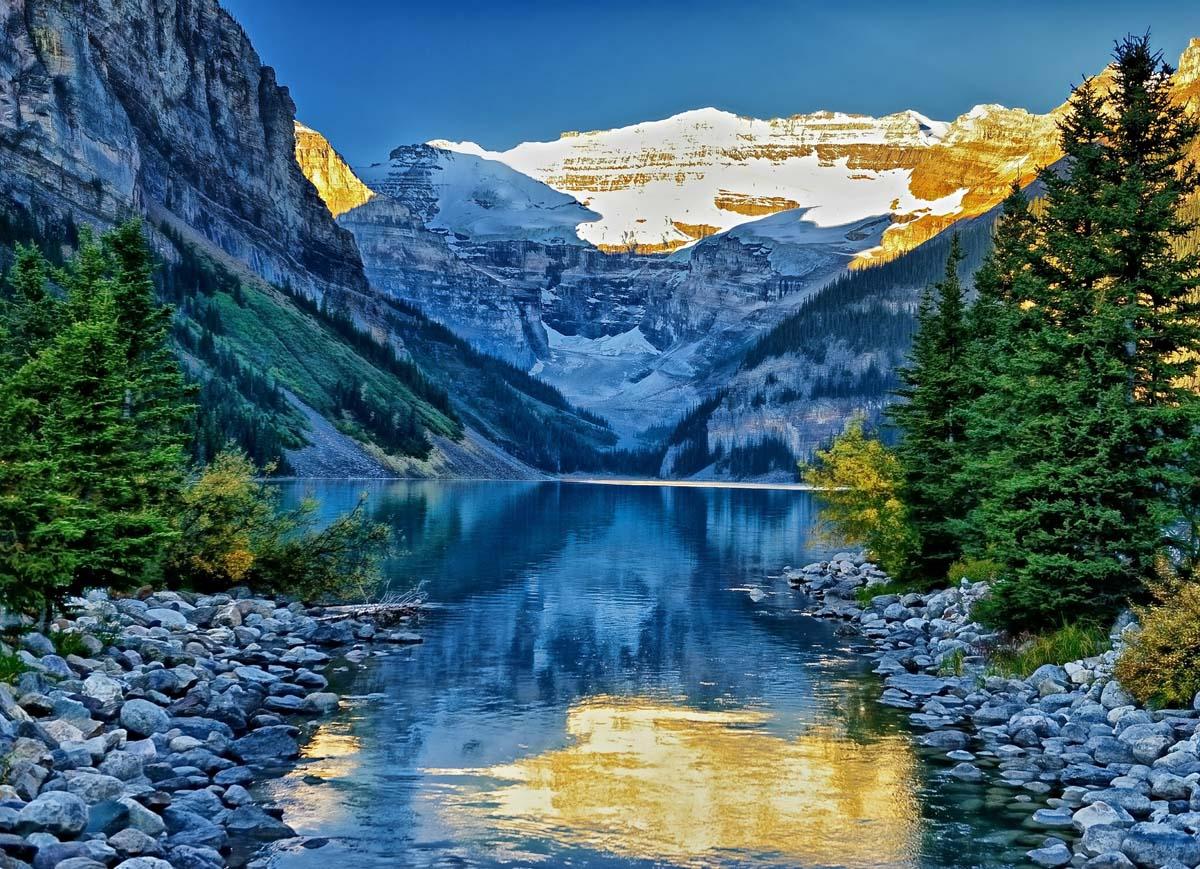 озеро Луиза, Канада
