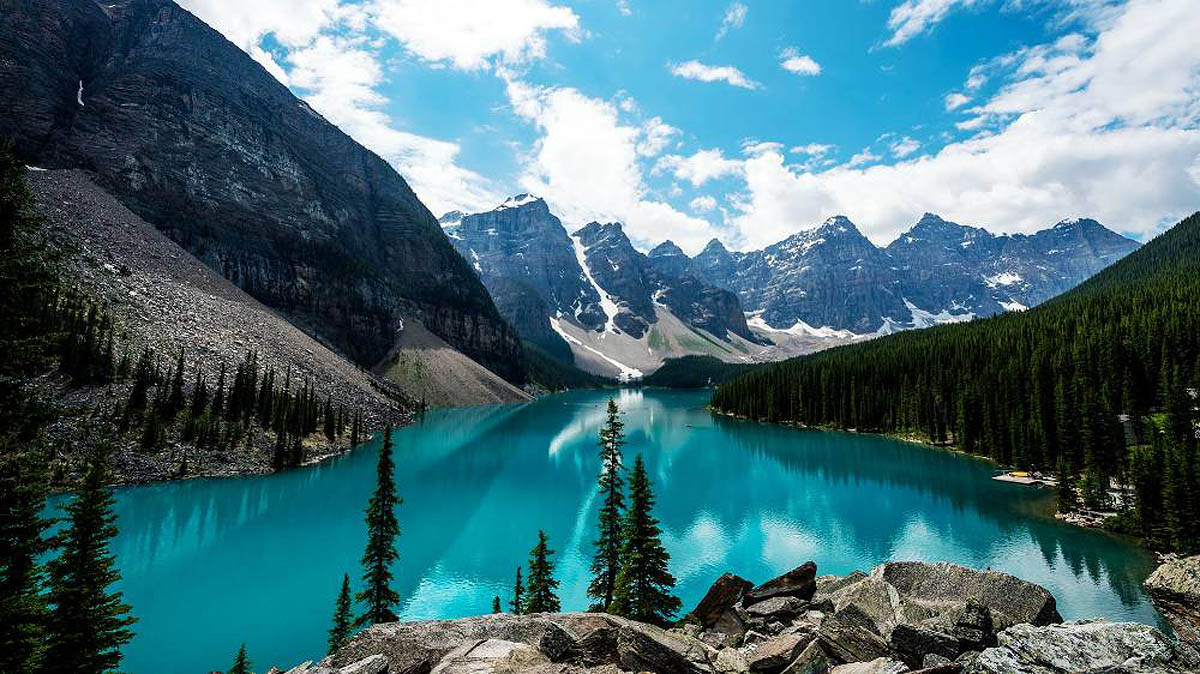 озеро Пейто, Альберта, Канада