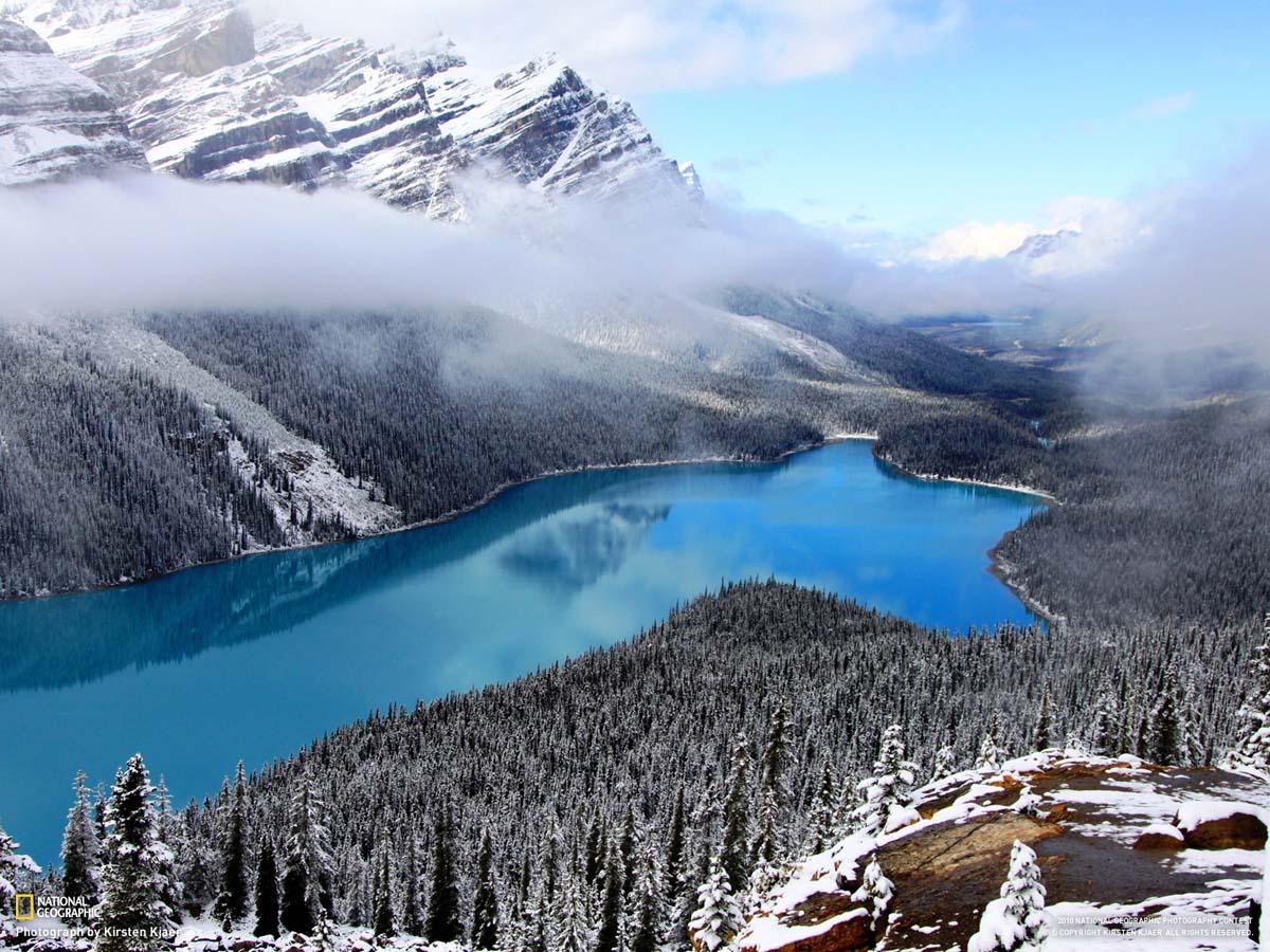 озеро Пейто, нацпарк Банф, Канада