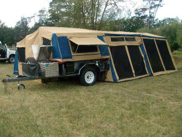 палаточный трейлер