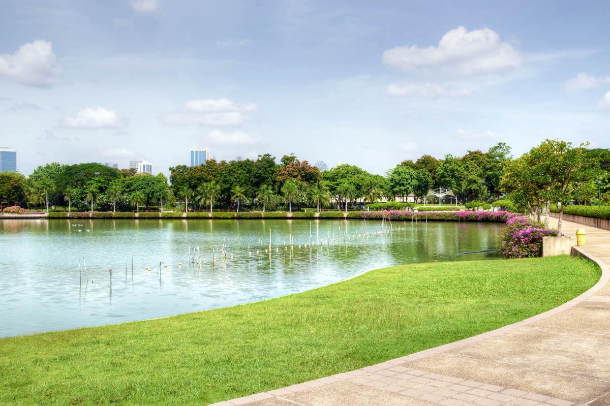 парк Бенджакитти в Бангкоке, Таиланд