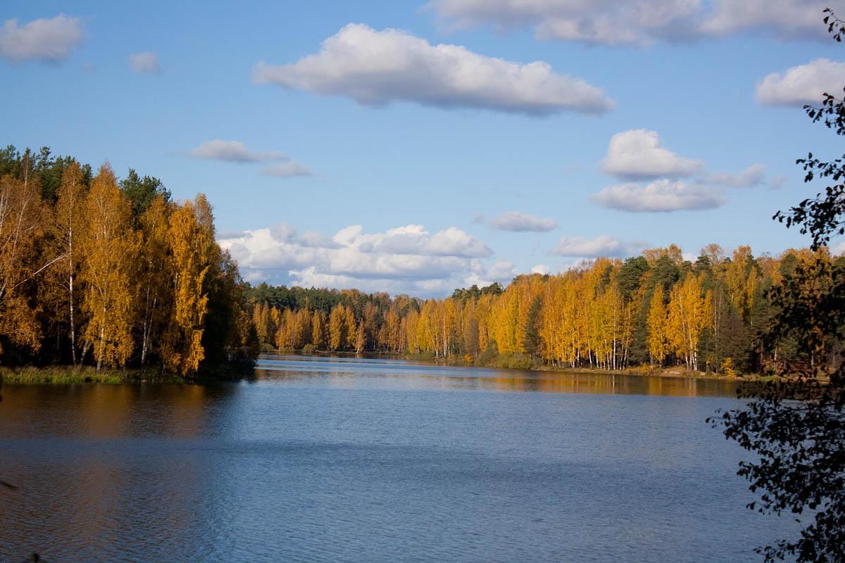 парк Харинка осенью