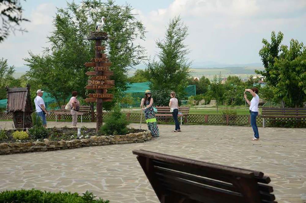 парк живой природы До-До между Анапой и Новороссийском