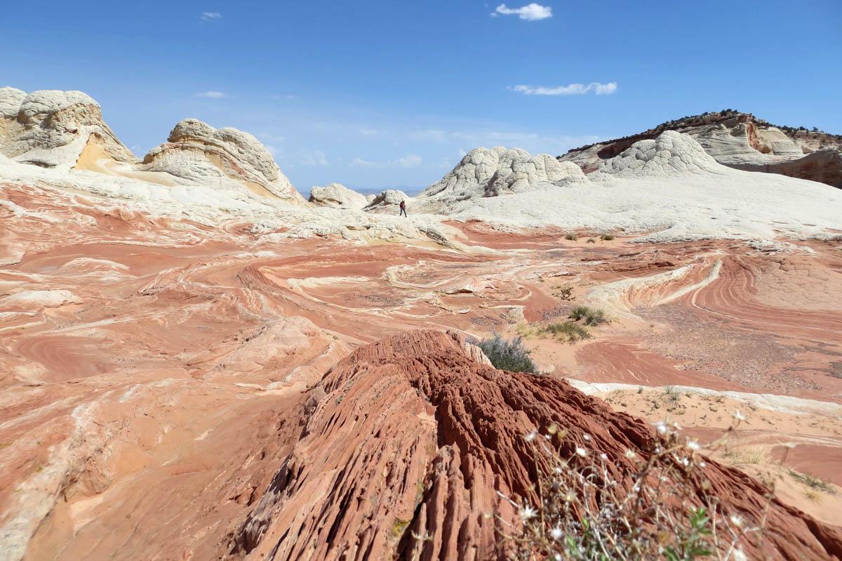 песчаные дюны Уайт Покет