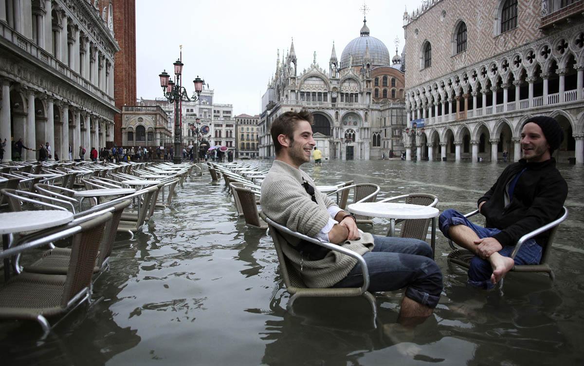 приливы в Венеции