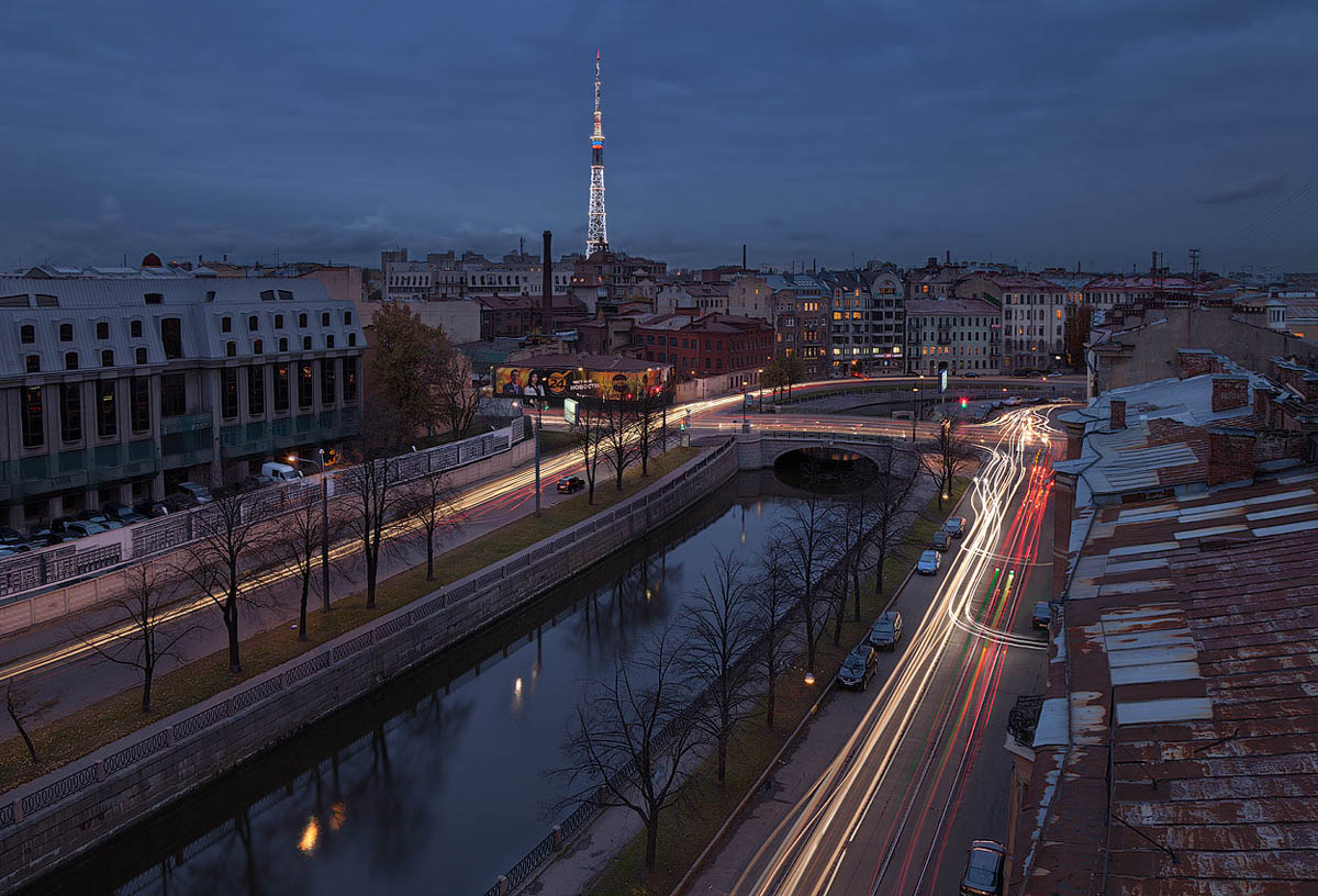 река Карповка, Санкт-Петербург