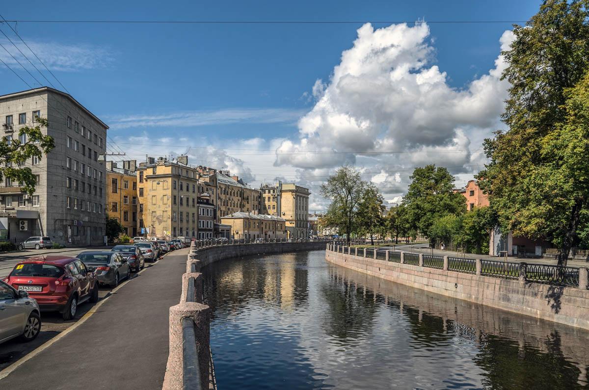 река Карповка в Санкт-Петербурге