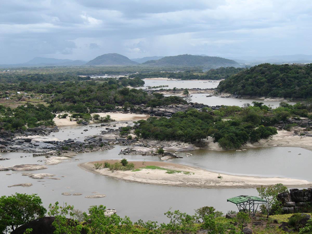 река Ориноко в Венесуэле