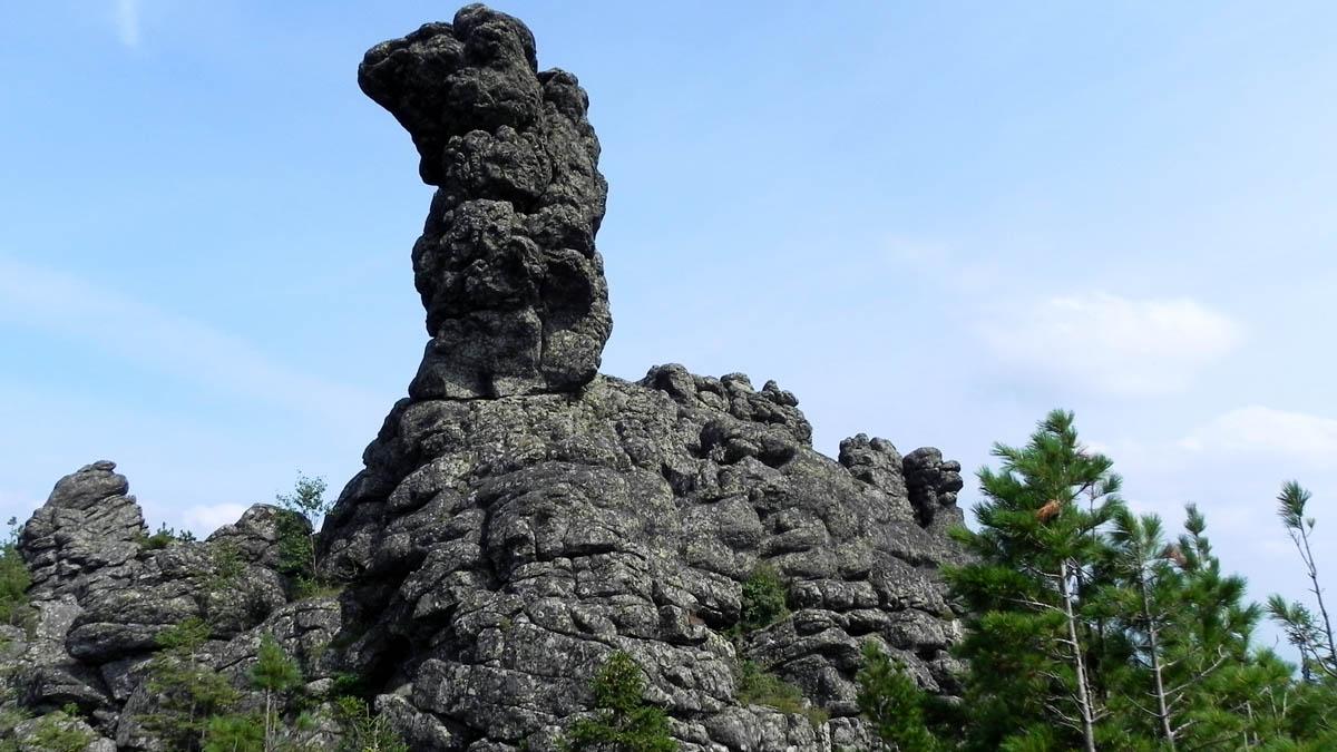 скала Верблюд возле горы Качканар