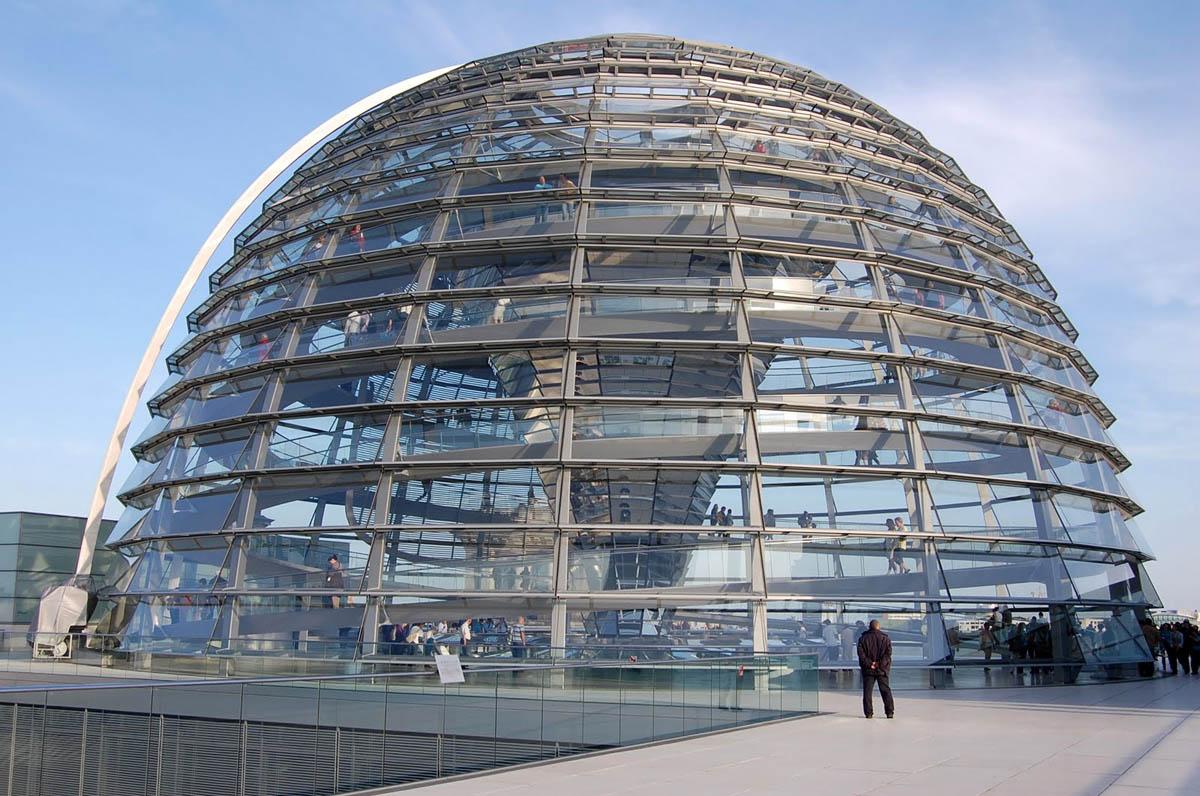 стеклянный купол Рейхстага