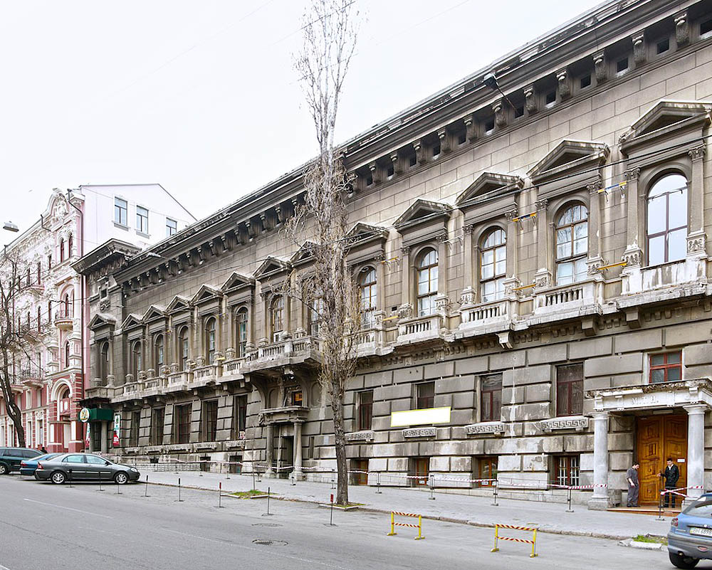 улица Бунина в Одессе