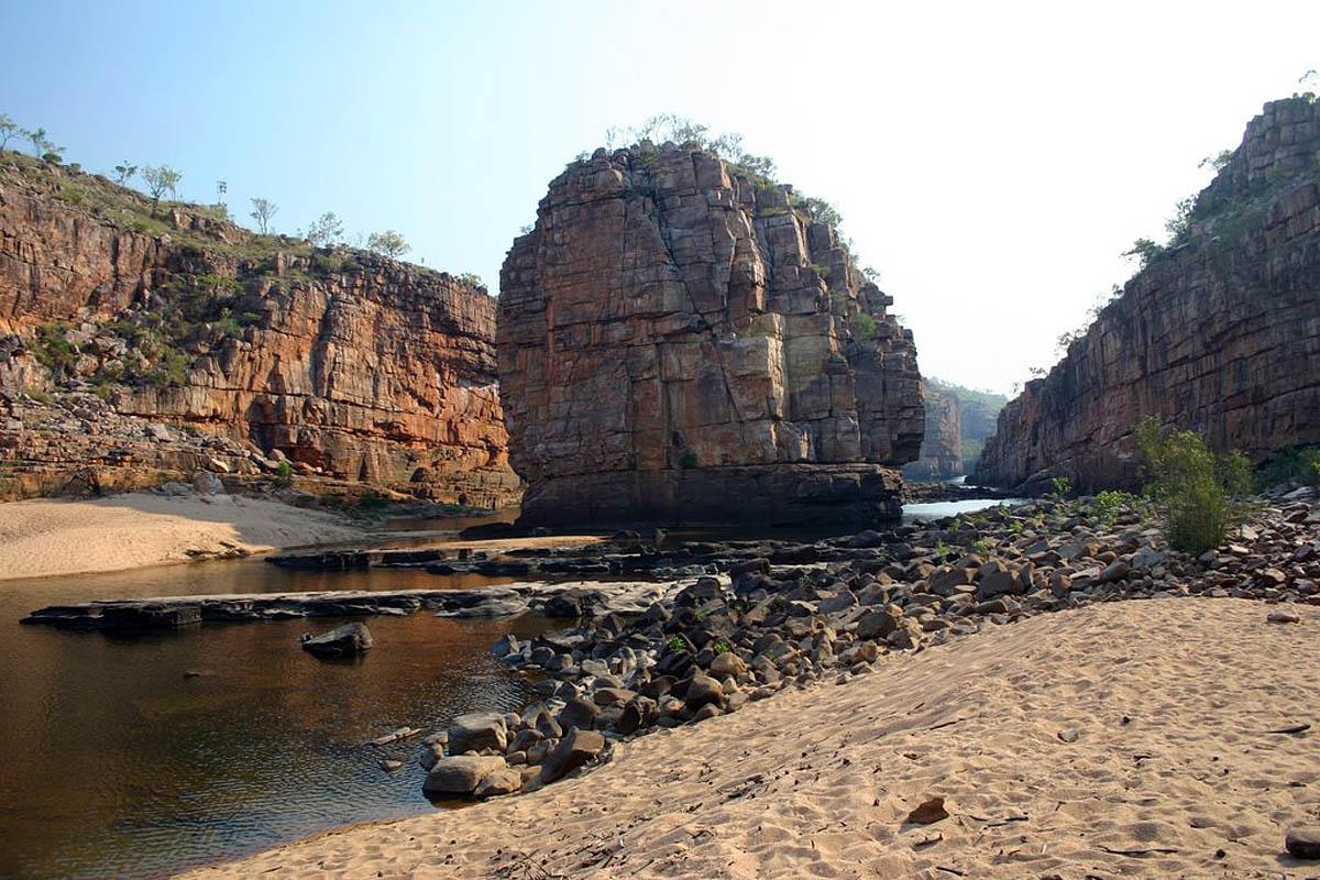 ущелье Кэтрин в Австралии