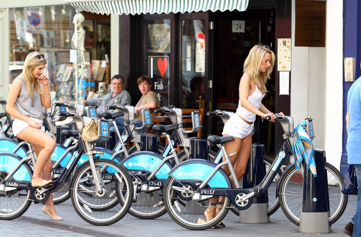 велосипедный Лондон