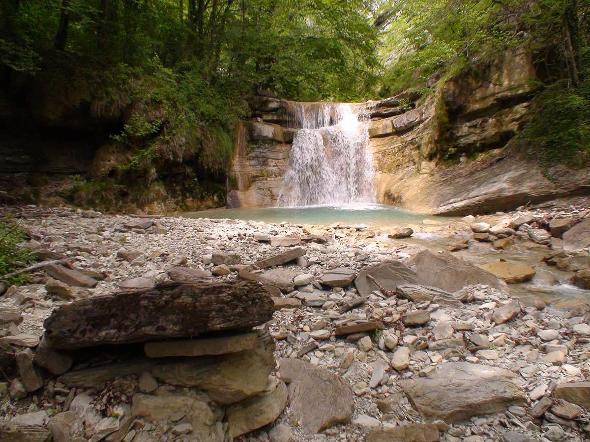 водопад Куаго, Геленджик, Краснодарский край