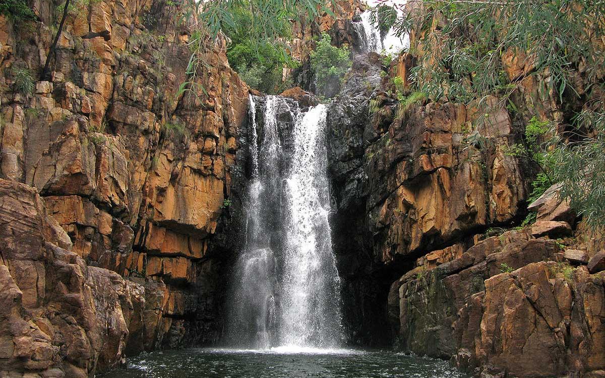 водопад в ущелье Кэтрин