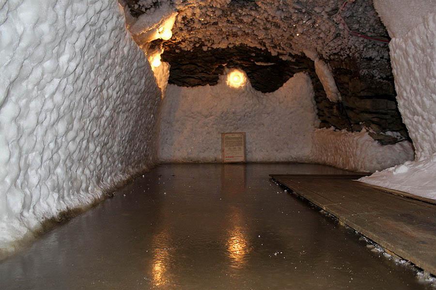 зал музея вечной мерзлоты в Игарке