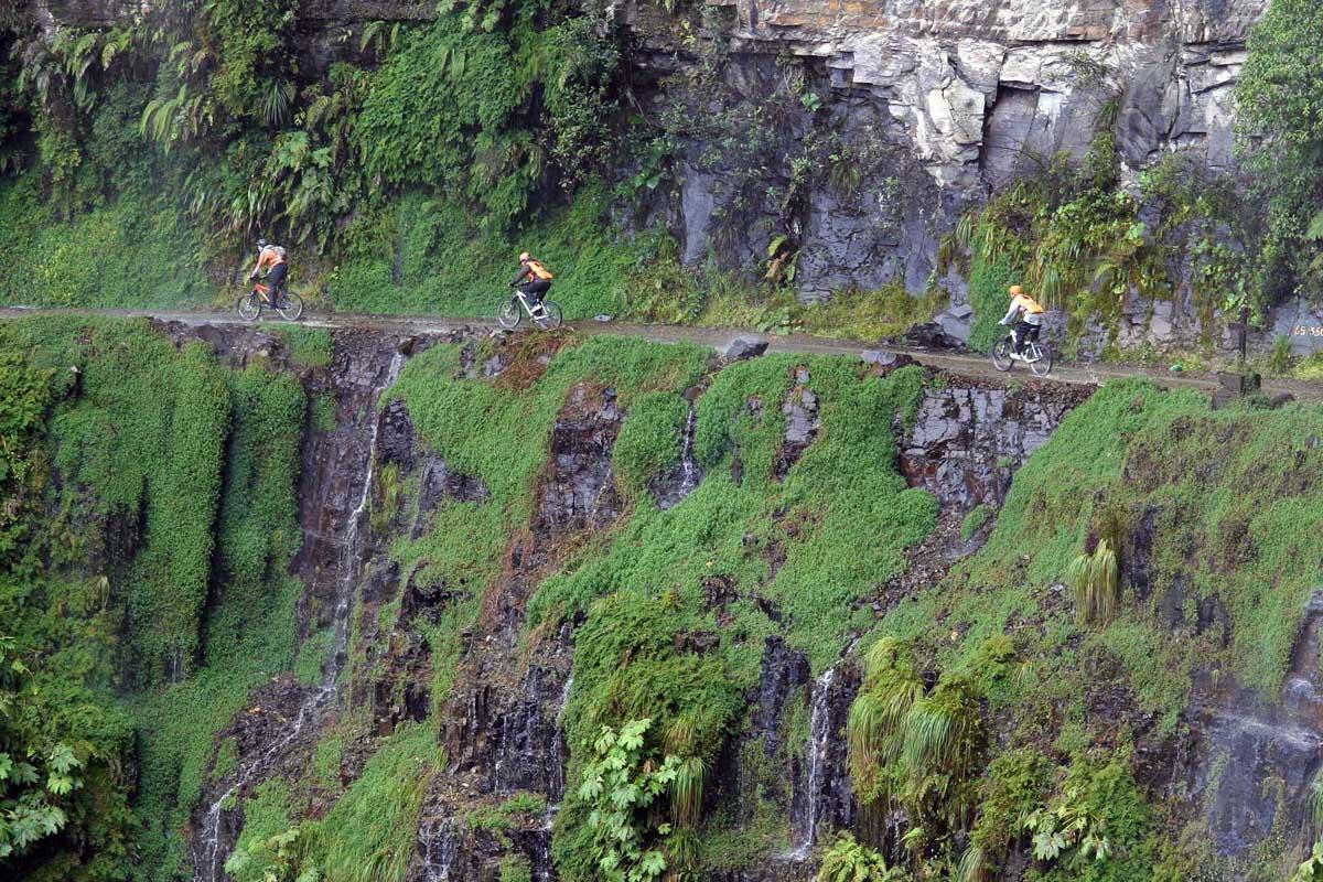 Дорога Смерти в Боливии
