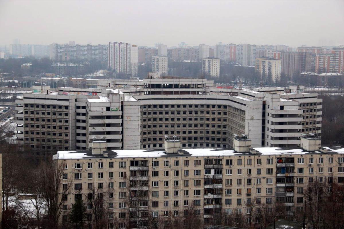 Заброшенная больница в москве фото 4