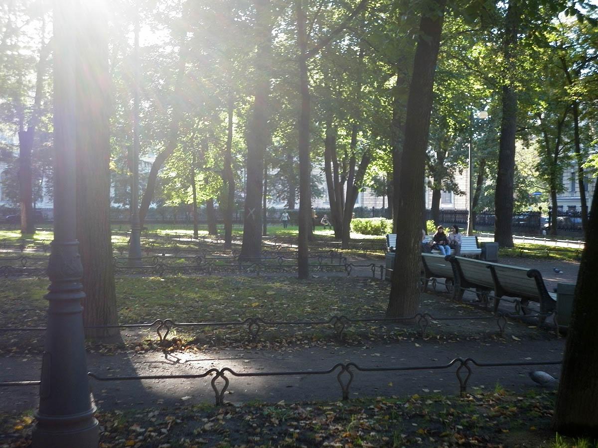 Румянцевский сад, Санкт-Петербург
