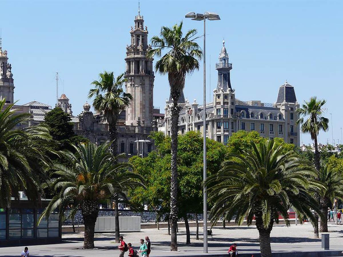 архитектура Барселоны, Испания