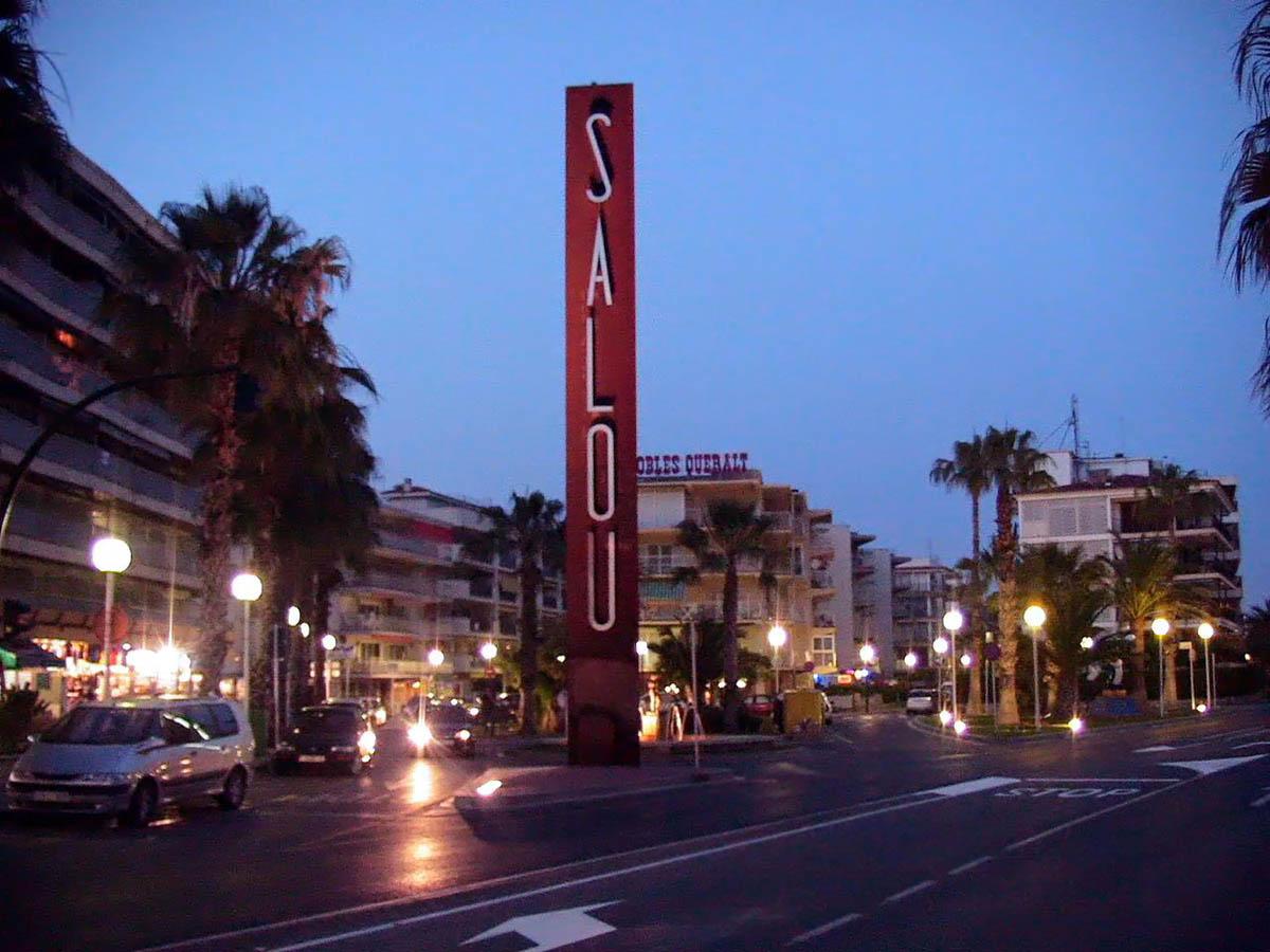 ночные улицы Салоу