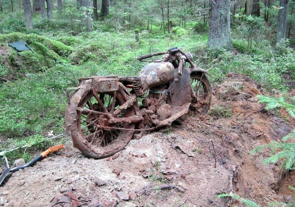 Что можно найти в лесу с металлоискателем?