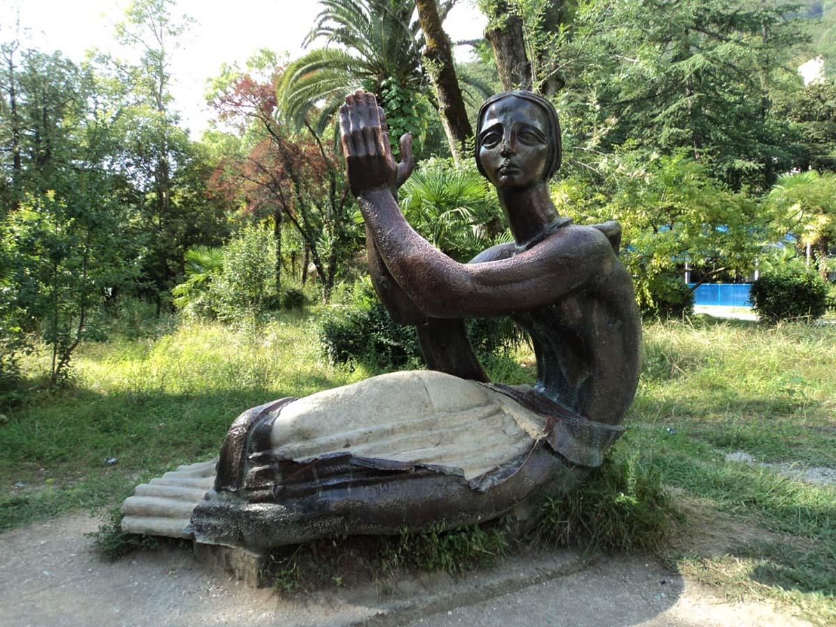 Приморский парк в гагре история