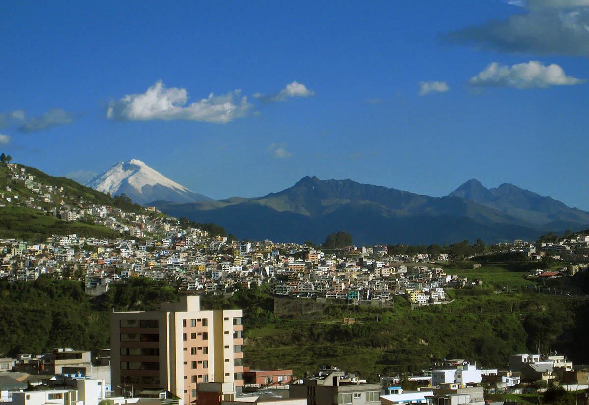 Вулкан В Городе