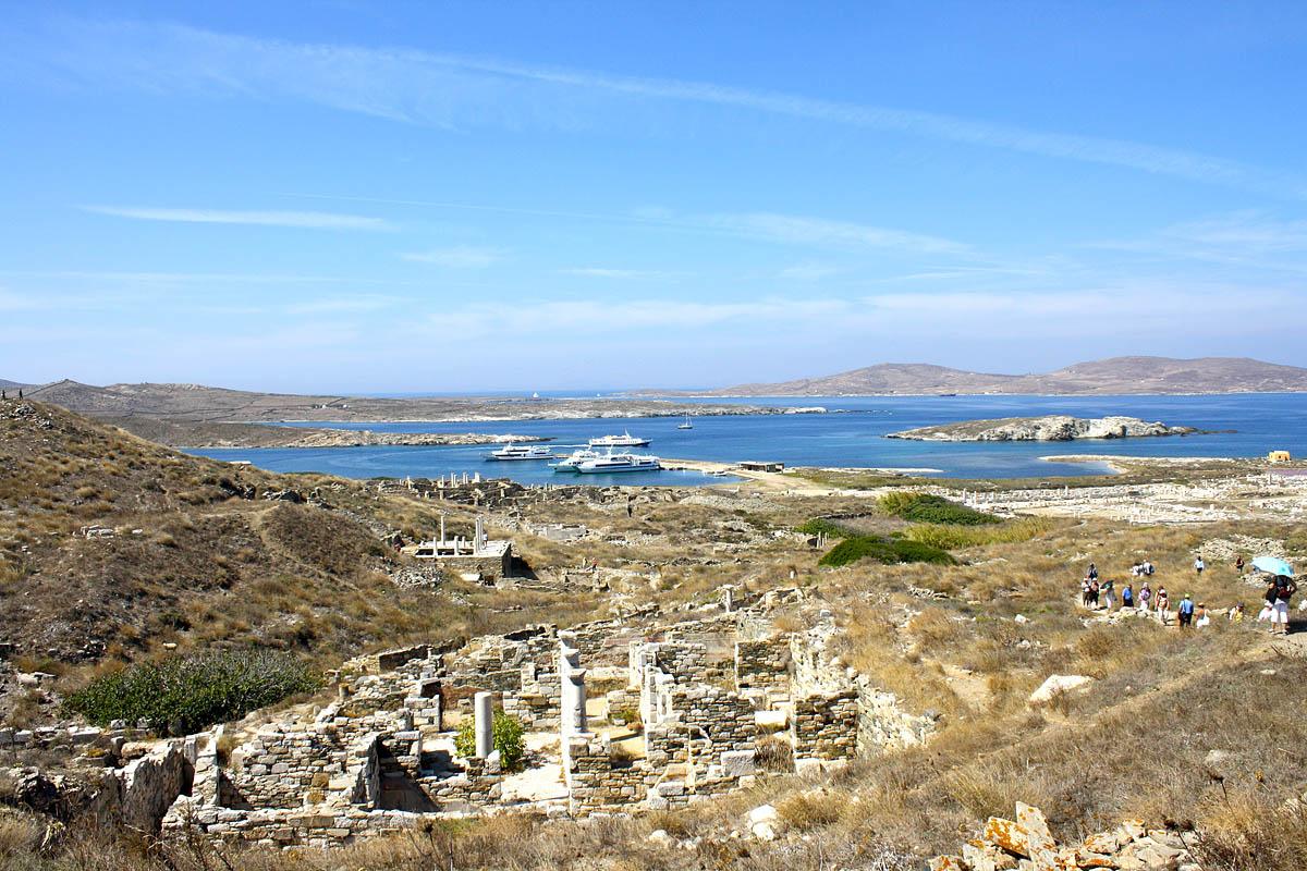 Остров делос стал один из самых первых